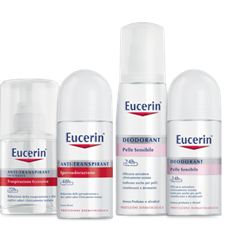EUCERIN deodoranti pelle sensibile o ipersudorazioine