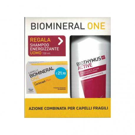 BIOMINERAL ONE 30 cpr + in OMAGGIO Shampoo anticaduta 150ml