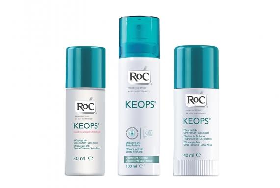 ROC Keops deodoranti spray & roll-on