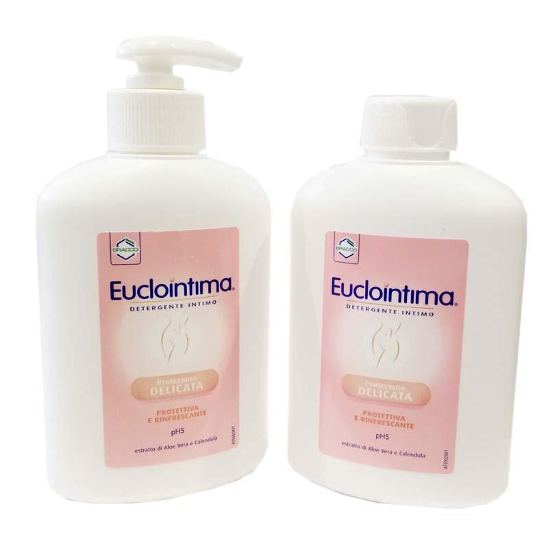 EUCLOINTIMA Detergente intimo delicato 2x200ml