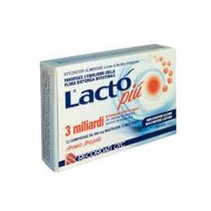 LACTO PIU' 3 MLD 12 cpr masticabili
