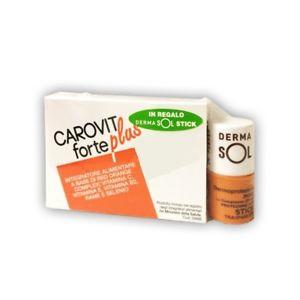 CAROVIT FORTE PLUS 30 cps + DERMASOL STICK OMAGGIO