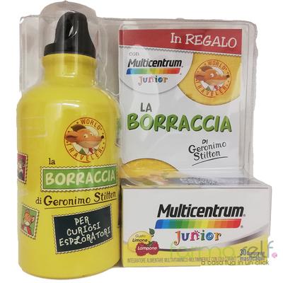 MULTICENTRUM Junior 30 cpr masticabili + borraccia in OMAGGIO