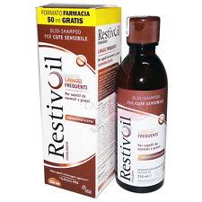 RESTIVOIL olio-shampoo sebonormalizzante o antiforfora 250ml